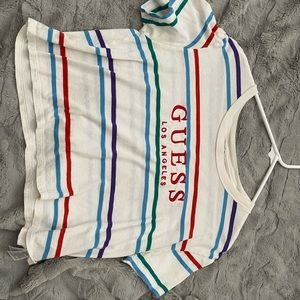 Cropped GUESS Shirt